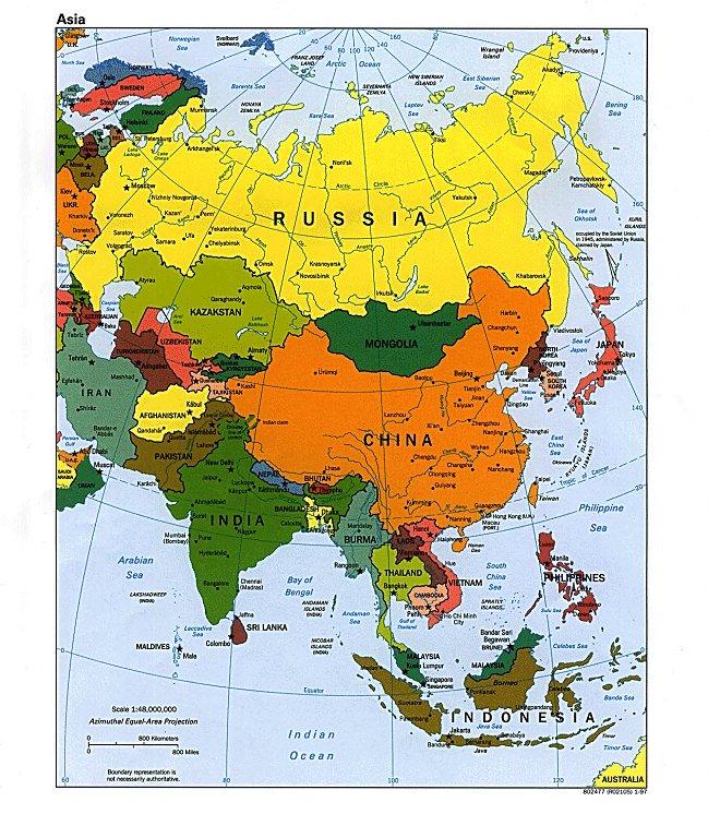 asien länder und hauptstädte